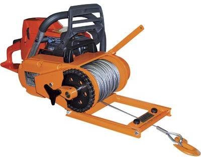 The Lewis Chainsaw Winch